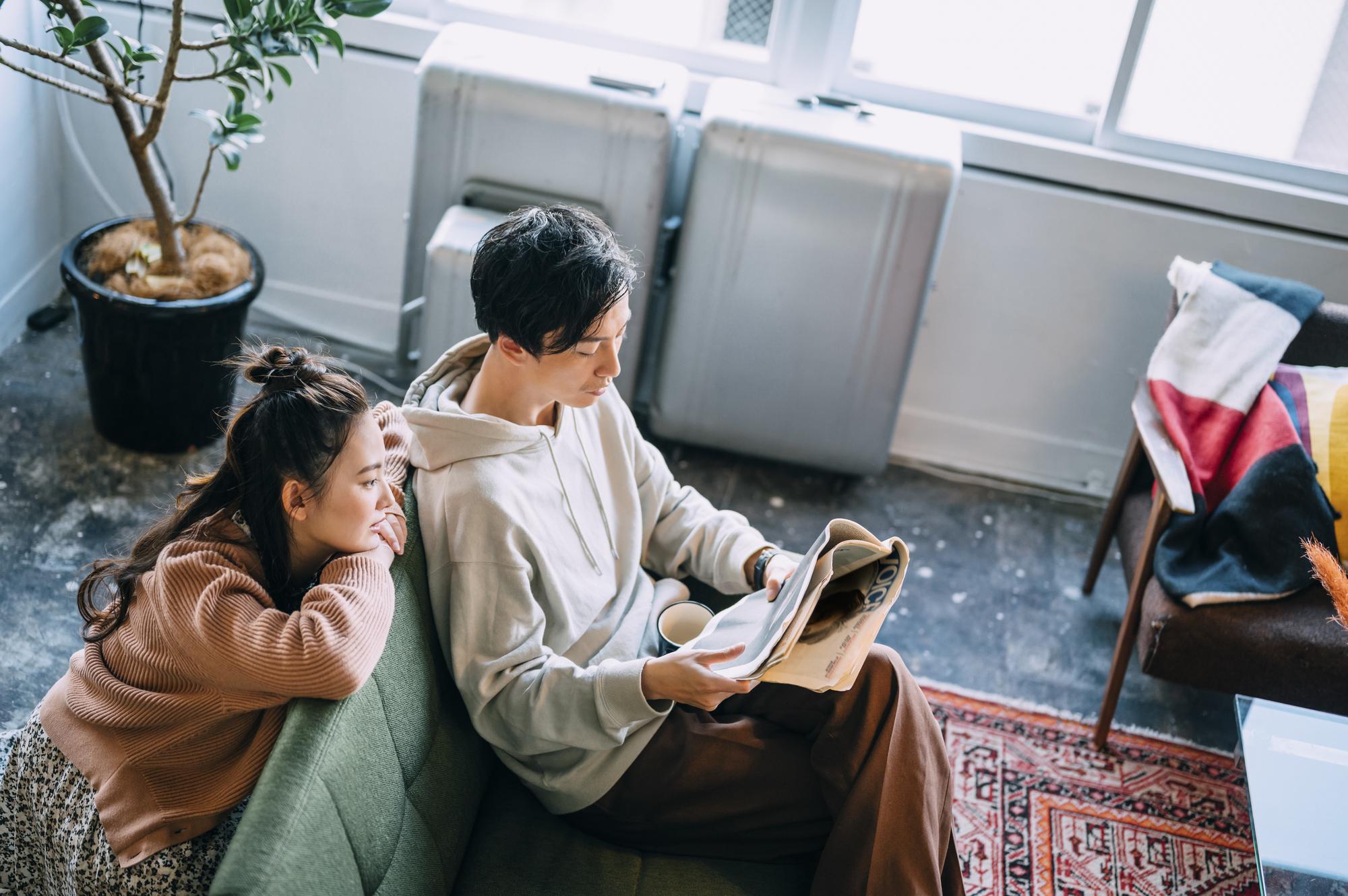 同棲したいカップル必見!イマドキの家具家電付き賃貸を活用した結婚前のお試し同棲